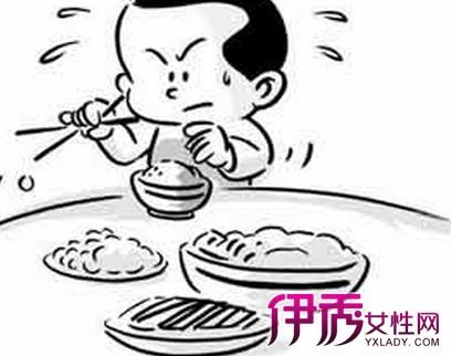 教你幼儿吃饭简笔画 为你分析宝宝不吃饭的9大原因