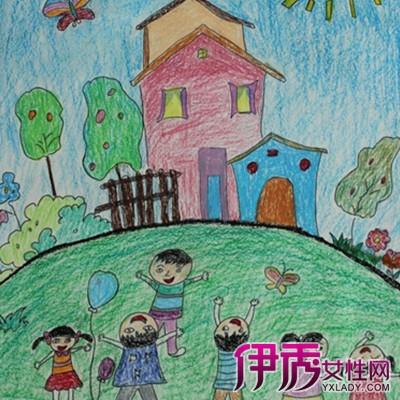 【美丽的家园儿童画】【图】美丽的家园儿童画