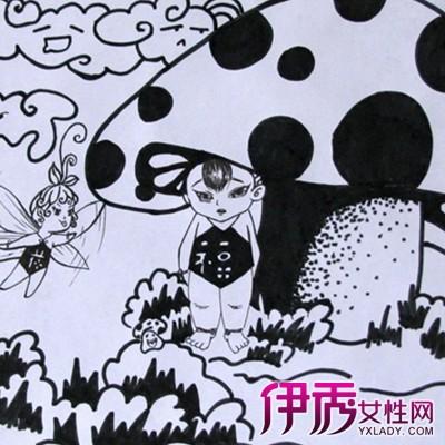 【儿童画线描教师范画】【图】儿童画线描教师范画图片