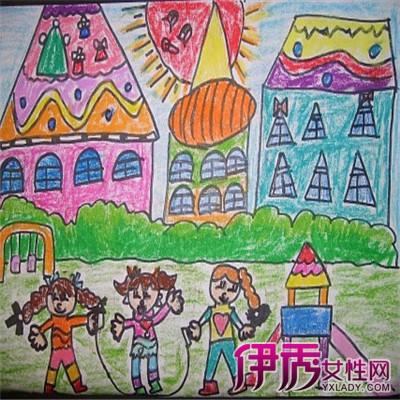 【我爱幼儿园绘画】【图】分享我爱幼儿园绘画作品