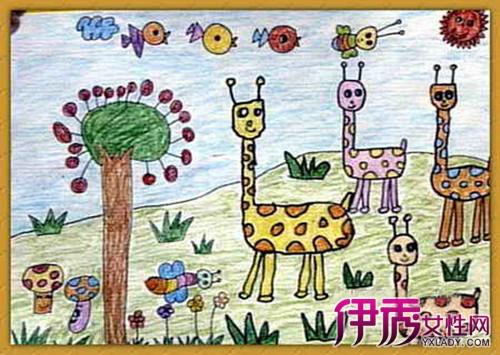 快乐幼儿园主题画画作品 了解画画的五大好处