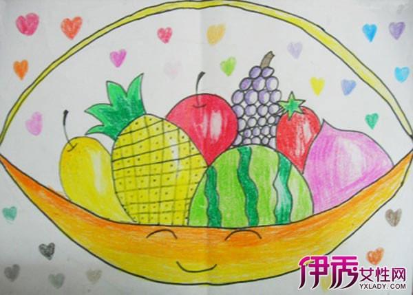 【图】儿童画水果图片展示 令人拍手称赞的作品图片