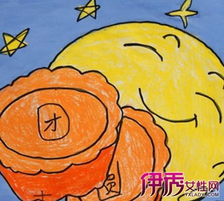 儿童绘画(线描)