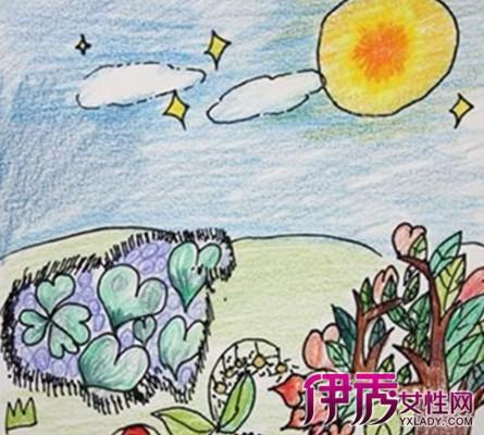 八月十五月亮儿童画大全 盘点中秋节儿童画图片