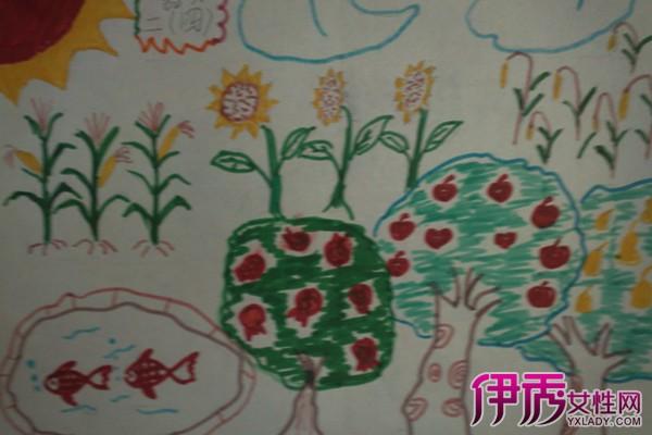 幼儿绘画秋天的图画 手把手教你的小儿画画