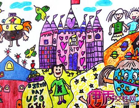 快乐幼儿园主题画画作品图 了解画画的五大好处