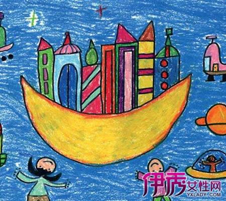 【简单好看儿童蜡笔画】【图】简单好看儿童蜡笔画-可爱简单的儿童