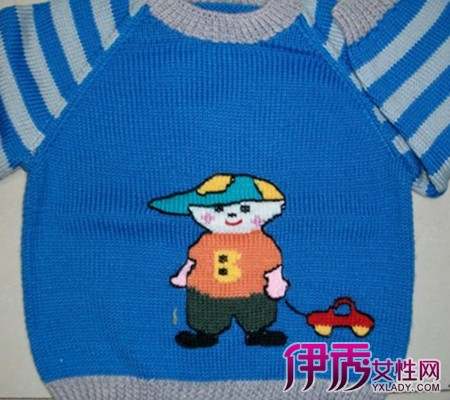 【图】儿童手工毛衣图案欣赏