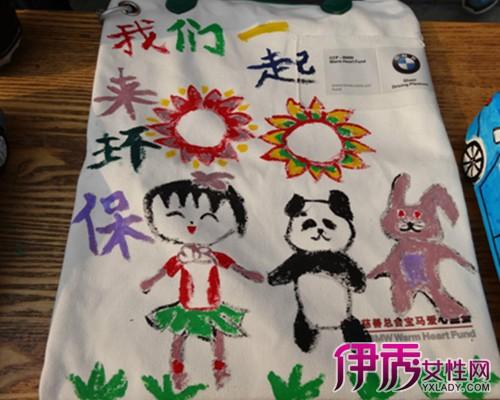 【沙发幼儿制作环保袋】【图】手工幼儿制作环手工制作图解图片