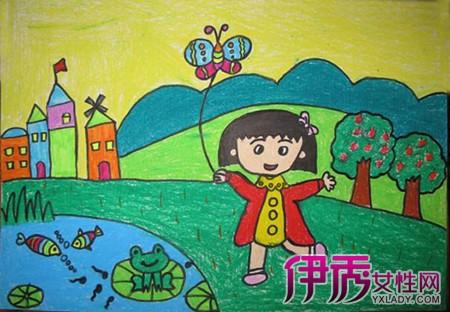 风筝图片儿童画 教你如何简单作画出风筝