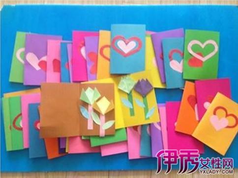 【图】幼儿园感恩节贺卡制作过程