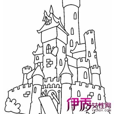【建筑简笔画图片大全】【图】萌萌哒幼儿建筑简笔