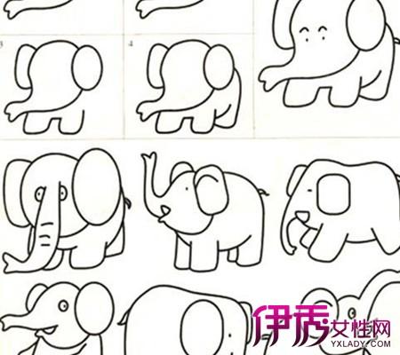【儿童简笔画大全图片动物】【图】儿童简笔画大全