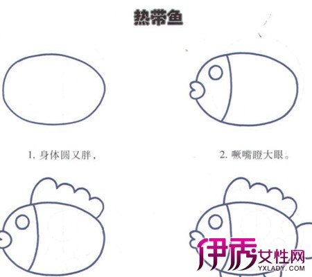 【图】幼儿学画画简单图案的画法