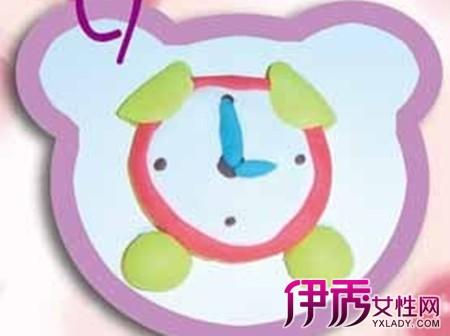 【儿童手工制作闹钟】【图】儿童手工制作闹钟方法
