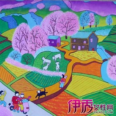 【优秀儿童美丽校园绘画图】【图】优秀儿童美丽校园
