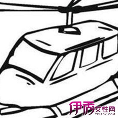 儿童简笔画飞机教学 根据儿童发育教相应的内容