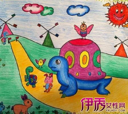 【图】看幼儿园油画棒范画 六大技巧教你如何画出更美的画图片