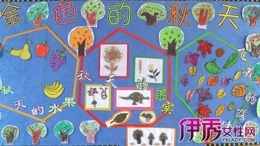 分享幼儿园秋季主题墙图片 教你如何布置幼儿园的主题墙