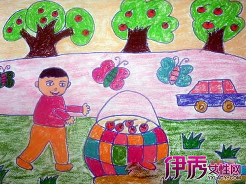 【圖】秋天水果圖片兒童畫展示