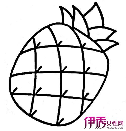 【儿童简笔画大全图片水果】【图】欣赏儿童简笔画