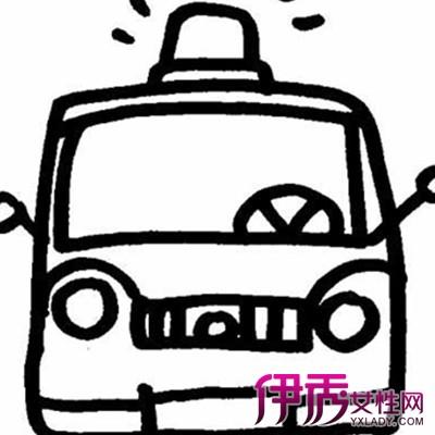【幼儿简笔画汽车】【图】可爱的幼儿简笔画汽车
