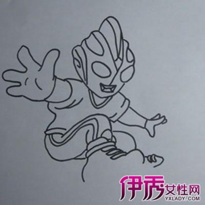 【儿童简笔画奥特曼】【图】儿童简笔画奥特曼图片