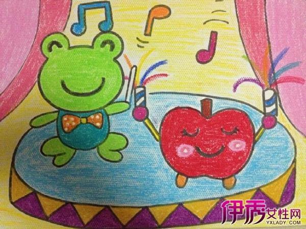 【幼儿油画棒渐变色】【图】幼儿油画棒渐变色教程