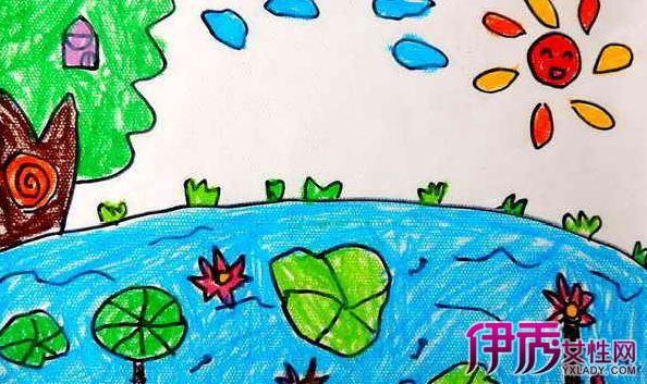 夏天的画儿童画作品展示 教你如何欣赏儿童画