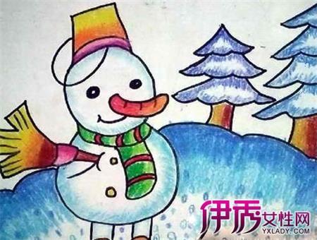 【冬天的画儿童画画】【图】冬天的画儿童画画