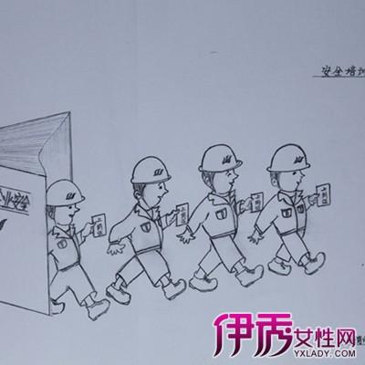 幼儿消防安全简笔画欣赏 手把手教你画简笔画