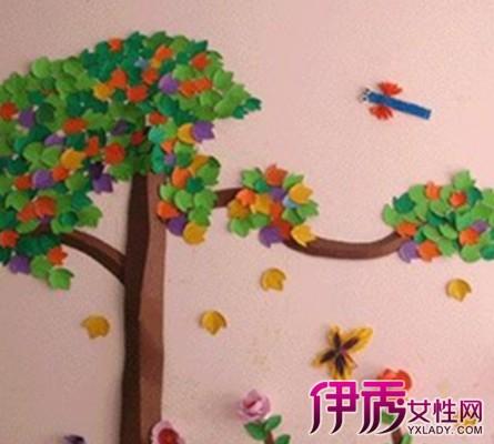 【幼儿园室内墙面布置图片】【图】幼儿园室内墙面