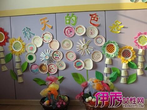 【幼儿园教室布置图片主题墙秋天】【图】赏幼儿园墙