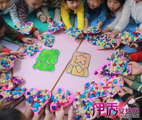 【幼儿园感恩节主题墙布置】【图】欣赏幼儿园感恩节