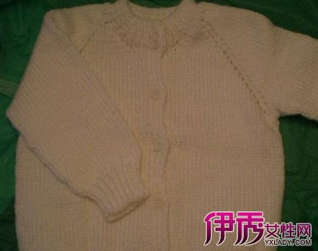 初生婴儿毛衣编织 0一1岁宝宝毛衣编织法
