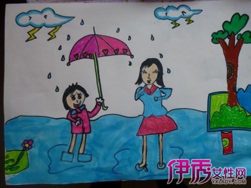 【幼儿园感恩节绘画作品】【图】幼儿园感恩节绘画图图片