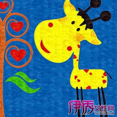 萌萌哒的儿童水粉画范画 激发儿童创造力