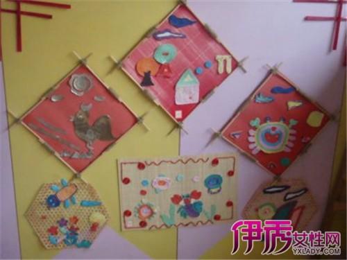 幼儿园作品展示墙布置展示 培养幼儿的创造能力