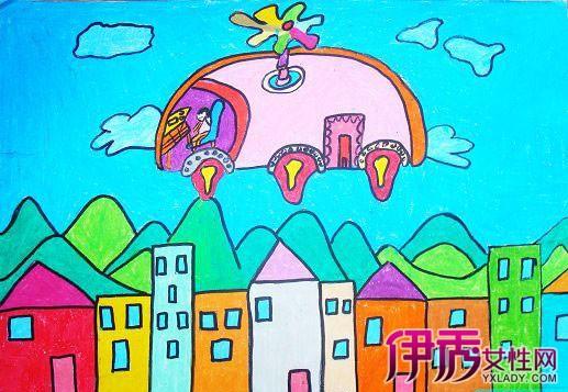 【图】未来的世界儿童画画展 走进儿童心目中的未来图片
