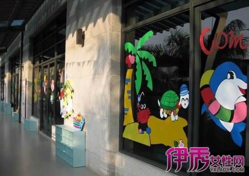 【幼儿园教室窗户布置设计图片】【图】幼儿园教室