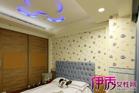 【图】儿童卧室吊顶造型应该怎样选择