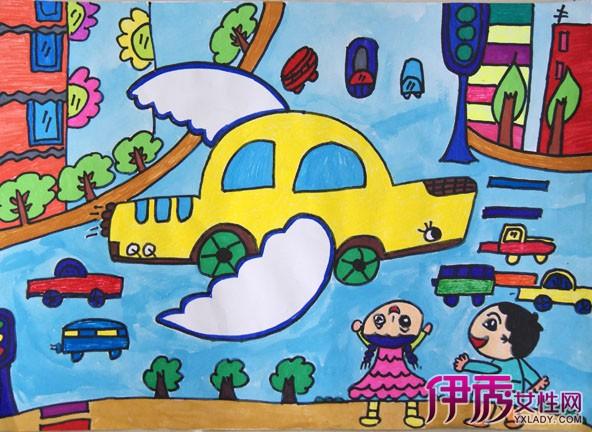 【图】儿童科技绘画图片欣赏 孩童时期绘画的存在的三种特点图片