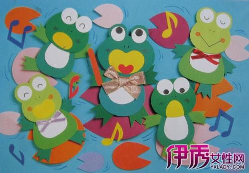 【幼儿园墙面手工布置图片】【图】幼儿园墙面手工