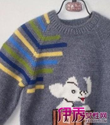 时尚儿童毛衣穿出你的可爱天真