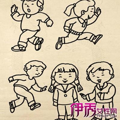 小朋友在玩耍简笔画 简笔画在阅读教学中的三大意义