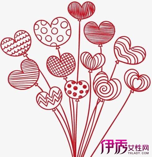 【一串气球简笔画】【图】宝宝最爱的一串气球简笔画