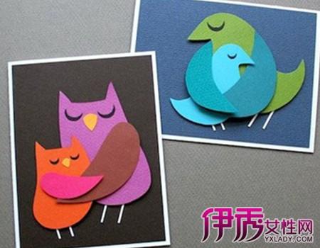 【儿童卡纸手工制作图片】【图】儿童卡纸手工制作图片