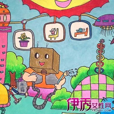 【环保图片儿童画简单】【图】欣赏环保图片儿童画图片