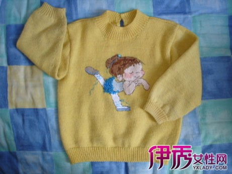 【儿童毛衣十字绣图解】【图】史上最全儿童毛衣十字