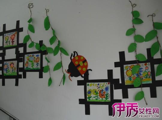 超赞的幼儿园美术作品展示墙 教你制作好看的作品展示墙